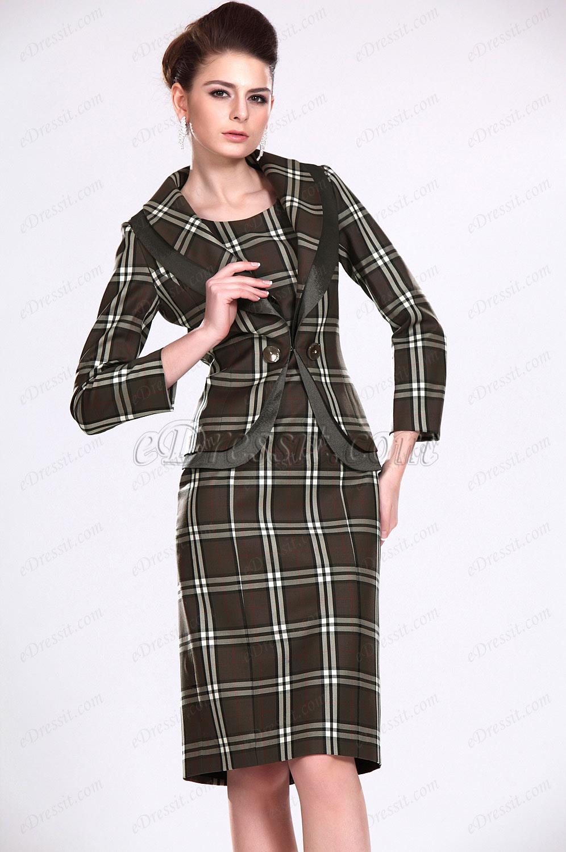eDressit Neu Stilvoll Zwei Stück Kleid für Braut´s Mutter (26114700)