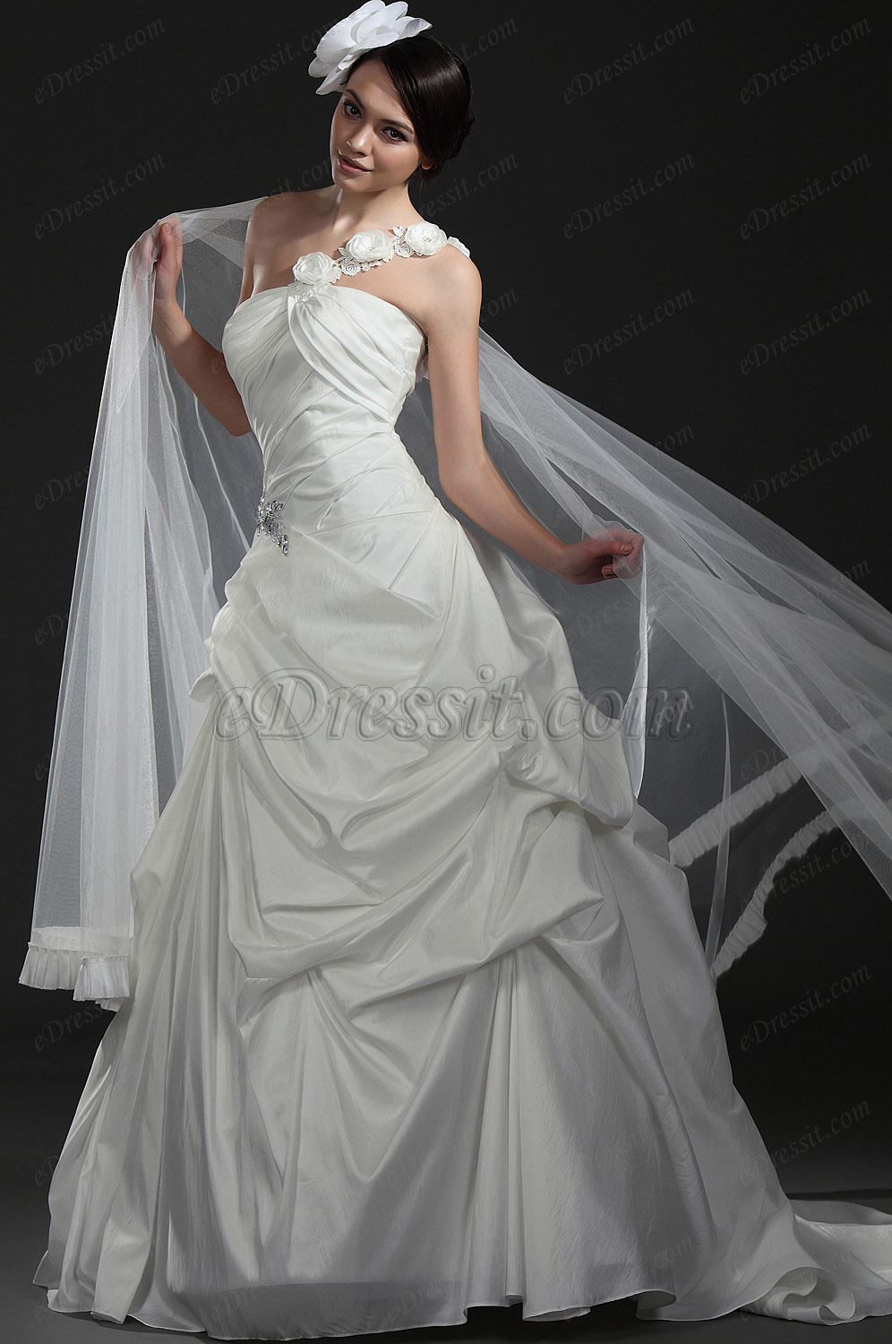 eDressit  New Elegant White Wedding Gown (01115407)