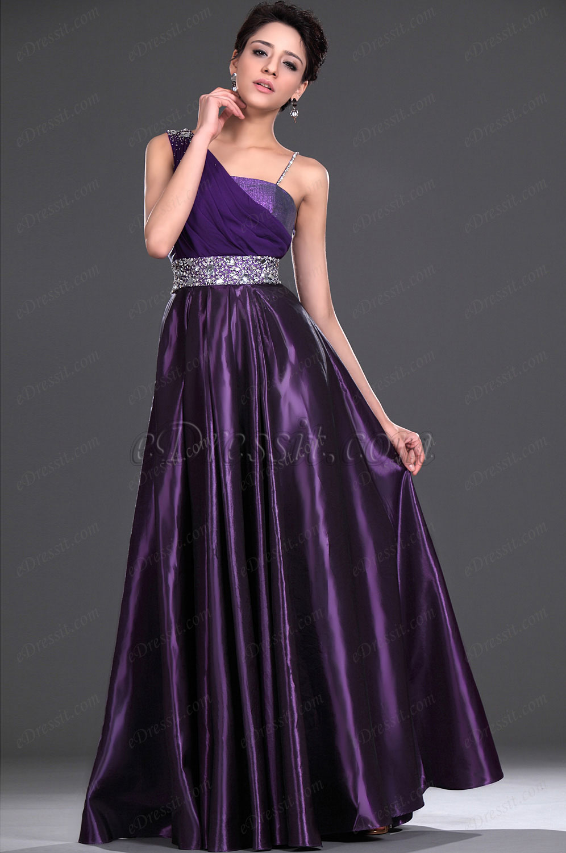 eDressit  New Elegant Purple Evening Dress Prom Gown (02111706)