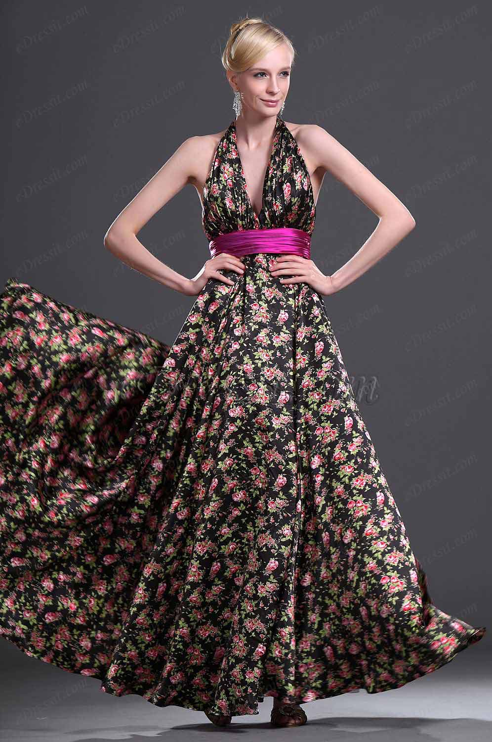 eDressit New Collection Halter Evening Dress (00099600)