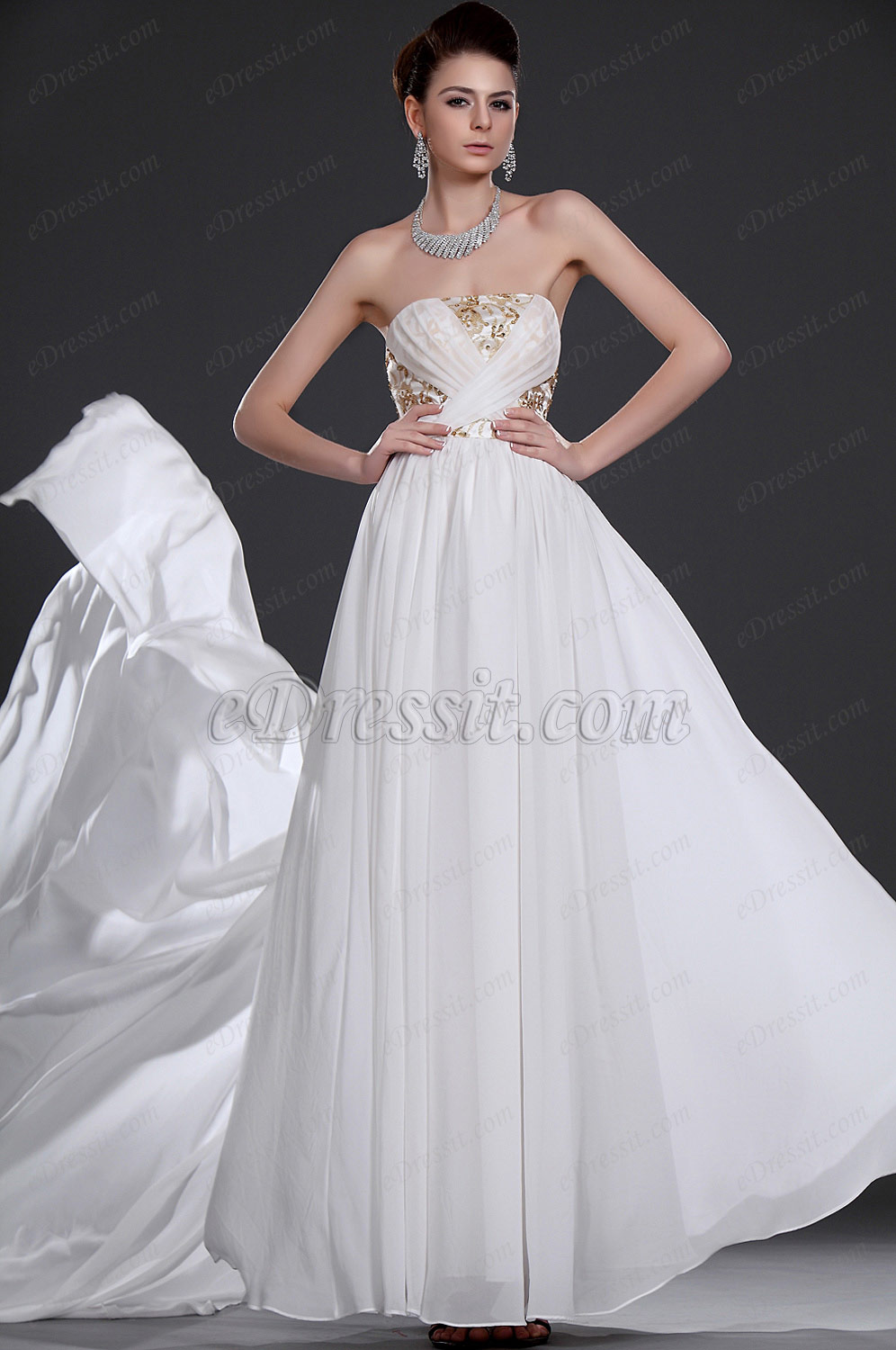 eDressit  New Elegant Strapless Evening Dress (00116907)