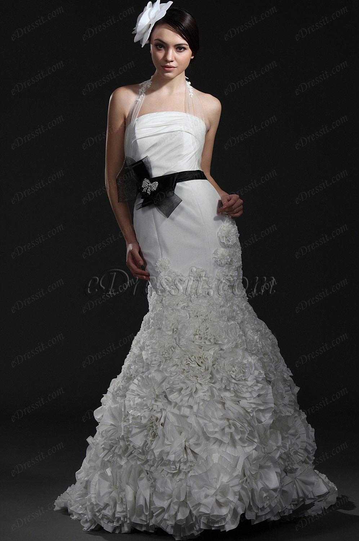 eDressit Новое великолепное  свадебное платьебез бретелек (01115307)