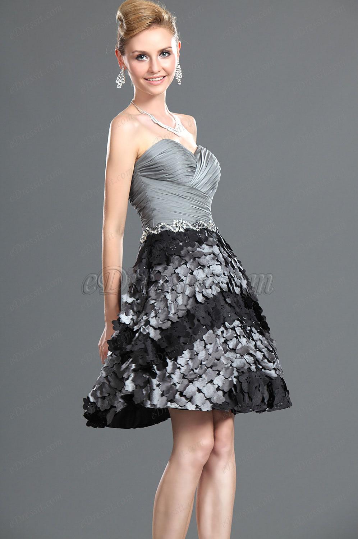 eDressit Nuevo Maravilloso Sin Tirante Vestido de Coctel Vestido de Fiesta (04117608)
