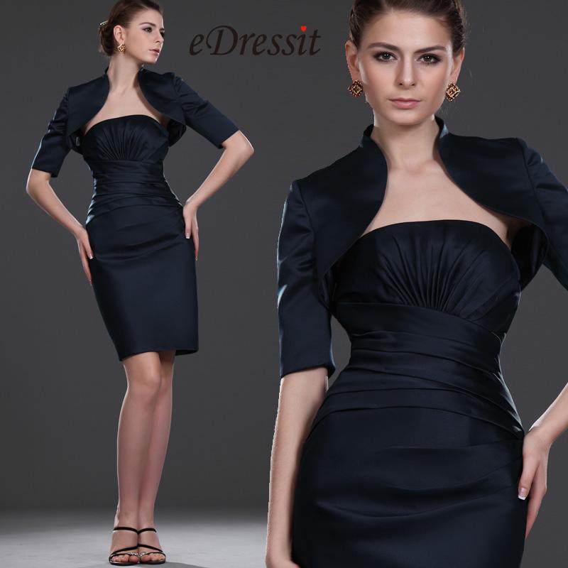 eDressit Recien llegados Simple Elegante Vestido de Dama Dos piezas (26112805)