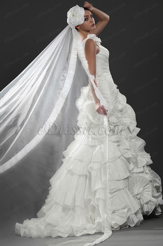 eDressit  New Elengant One Shoulder Wedding Gown (01115807)
