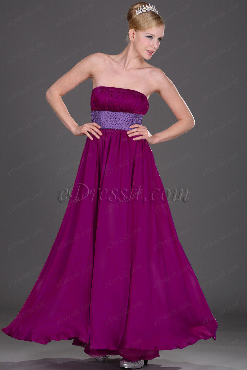 Clearance Sale! eDressit Strapless Evening Dress--Size UK14 (00108316b)