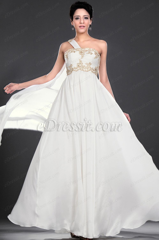eDressit  Fantastic Lace One Shoulder Evening Dress (00116007)