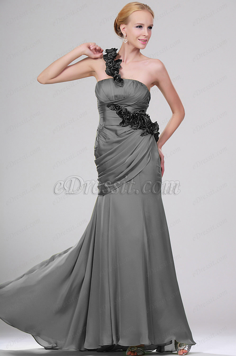 Clearance Sale! eDressit Gray Evening Dress-Size UK20 (00110104b)
