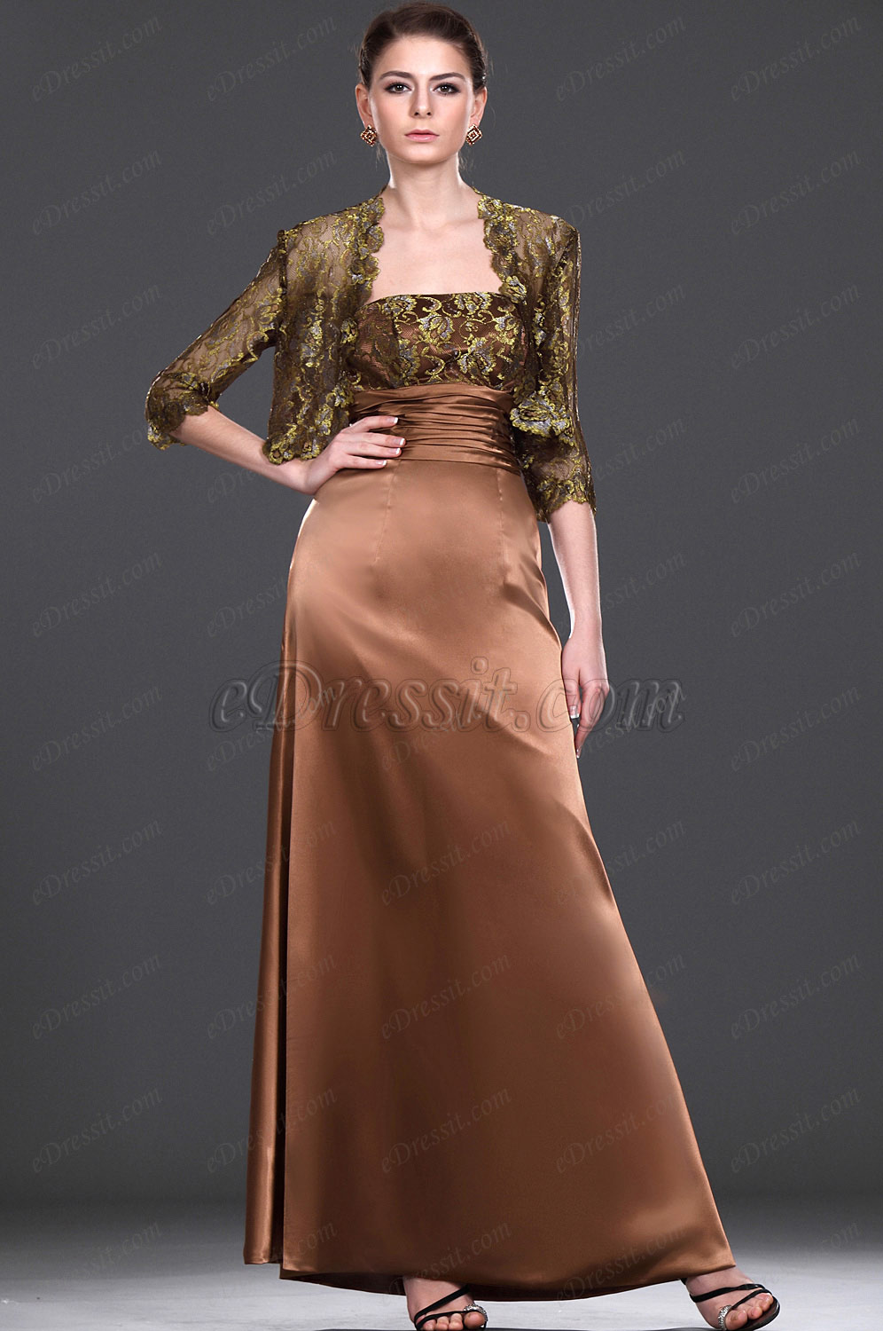 eDressit New Alluring Two Pieces Mother of the Bride Dress (26112120)