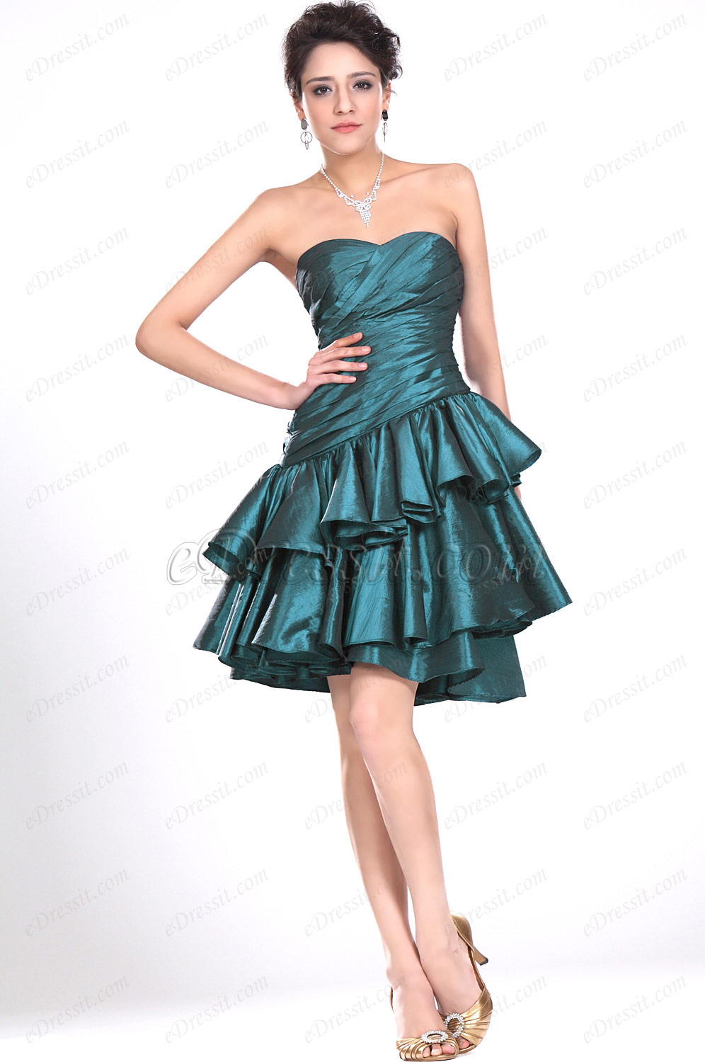eDressit New Strapless Sweetheart Party Dress (04117004)