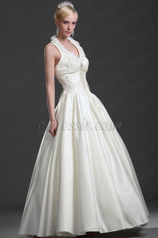 eDressit Brillante Halter Vestido de Noche (01112513)