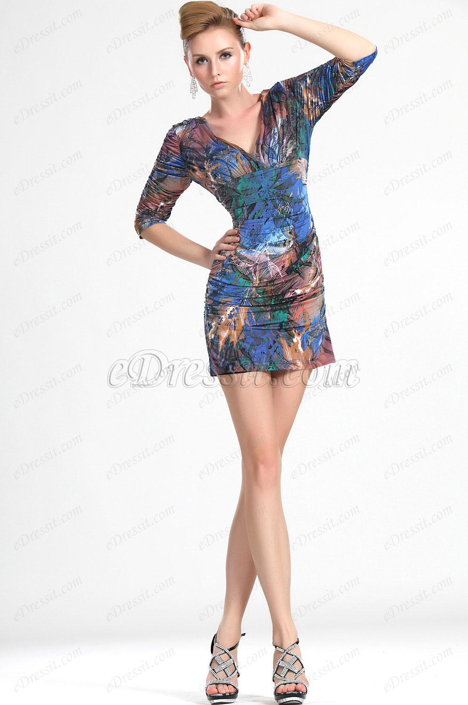 eDressit Nouvelle A La Mode Fleurie Robe de Cocktail (03112168)