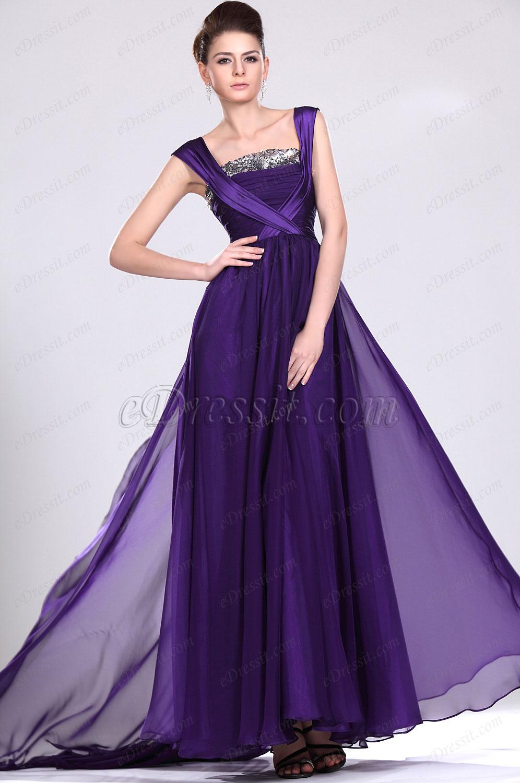eDressit  Neue Artikel Eleganzes Lila Abendkleid (00117406)