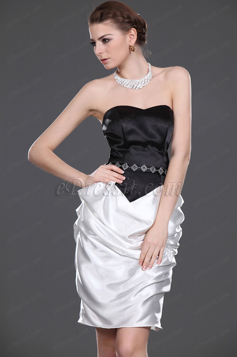 eDressit New Attractive Strapless Mother of the Bride Dress (26113707)