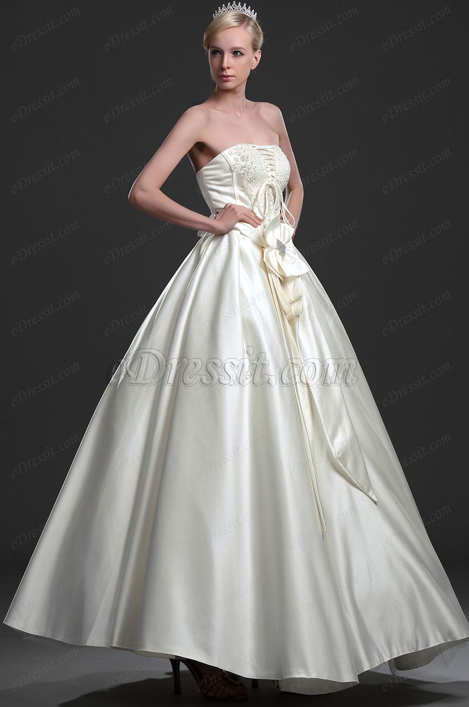 eDressit Новое свадебное платье без бретелек (01114113)