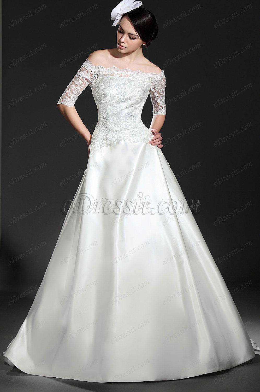 eDressit  Elegante Vestido de Bodo de encaje (01115007)