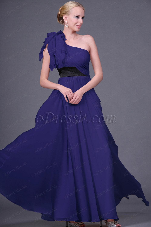 Clearance Sale!  eDressit Dark Blue Evening Dress--Size UK12 (00111314d)