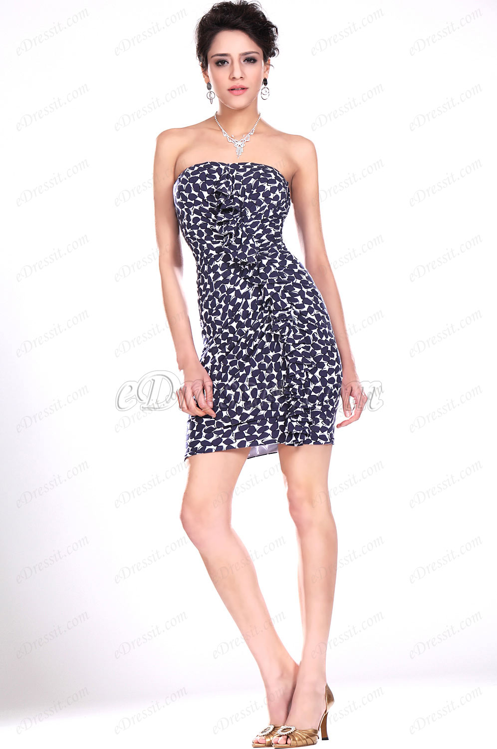 eDressit New Strapless Fitted Party Dress (04117168)
