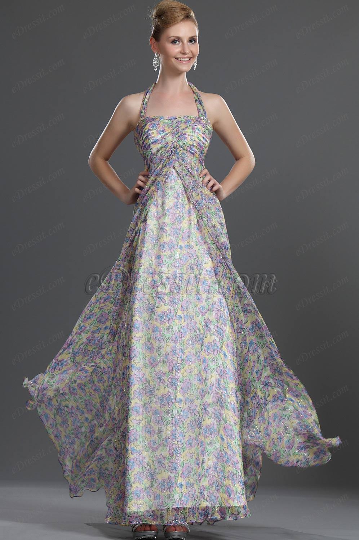 eDressit Neue Artikel Halfter 100% Seiden Abendkleid (00103168)