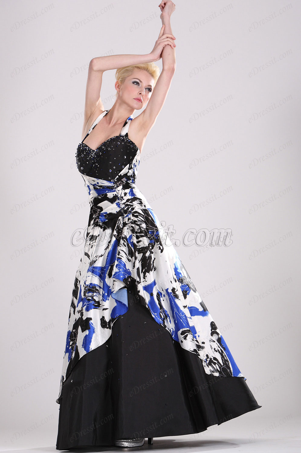 eDressit Stylish Halter Ball Gown (28100268S)