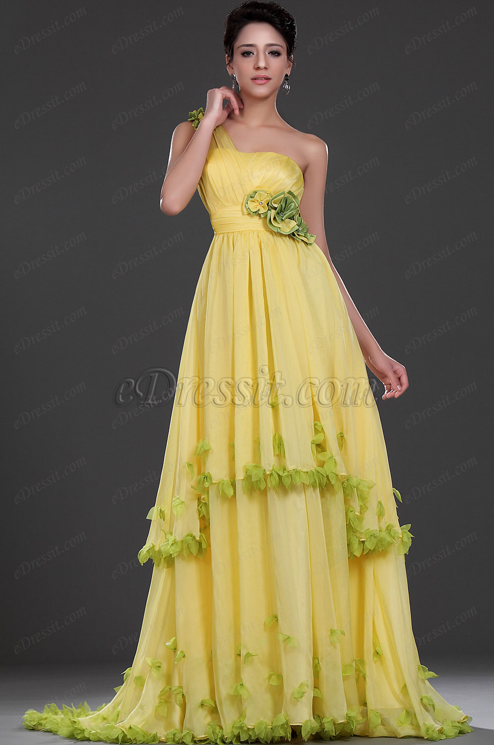 eDressit  New Attractive One Shoulder Evening Dress Prom Gown (02111603)