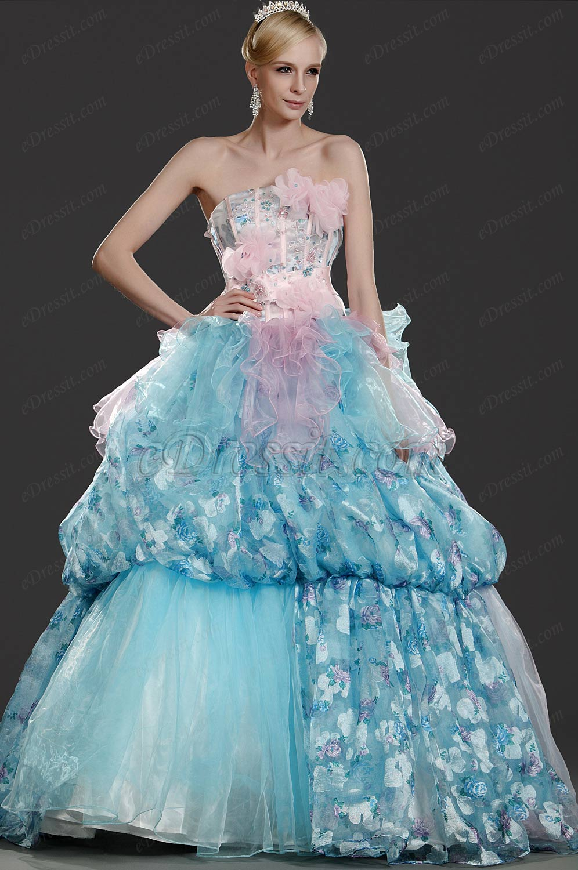 eDressit Neue Artikel Wunderbares Trägerlos Abendkleid Abiballkleid (31110205)