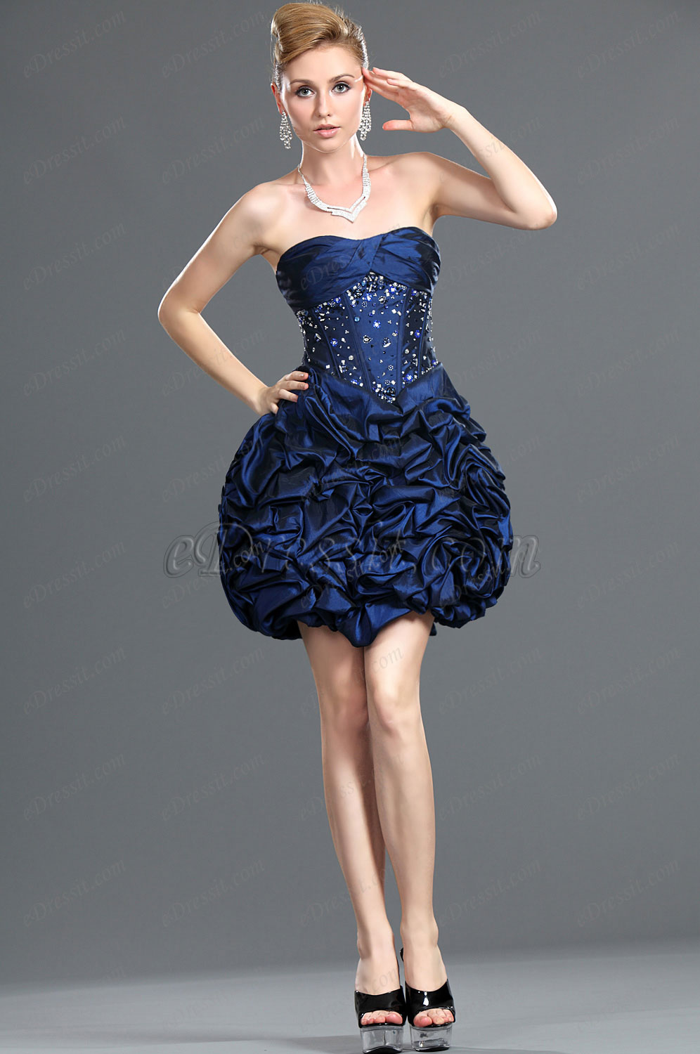 eDressit New Arrival Attractive Beads Cocktail Dress Party Dress (35110605)