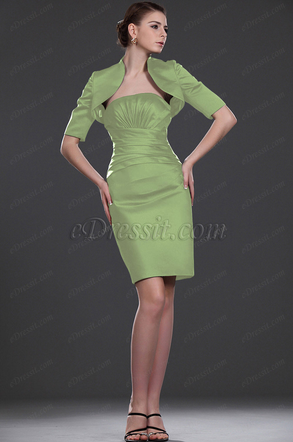 Clearance Sale !  eDressit Formal Dress with Bolero--Size UK18 (26112805b)