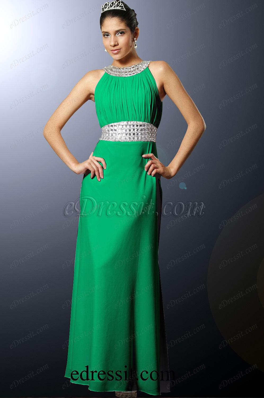 Clearance Sale ! eDressit Green Evening Dress--Size UK18 (00100207b)