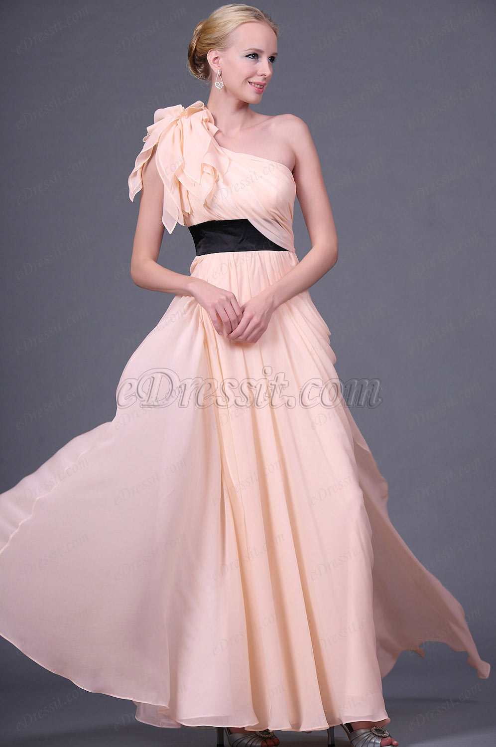 Clearance Sale! eDressit One-shoulder Evening Dress--Size UK20 (00111314b)