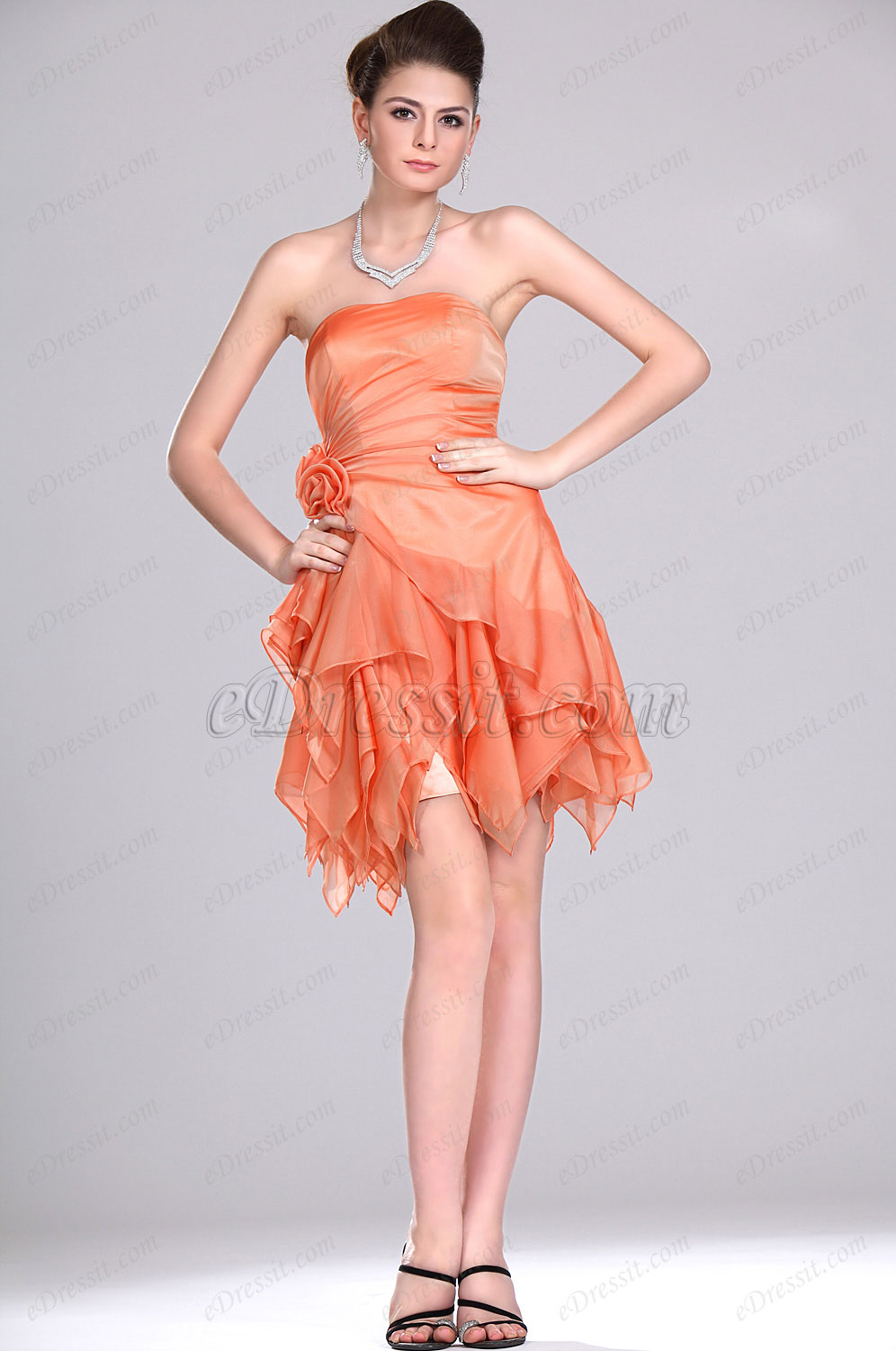 eDressit New Adoral Strapless Party Dress (04115710)
