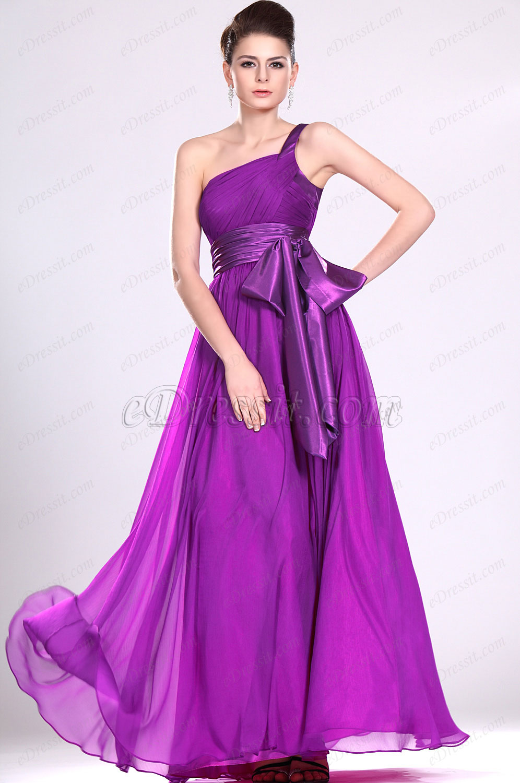 eDressit Recien llegados De moda Solo hombro Vestido de Noche (00118712)