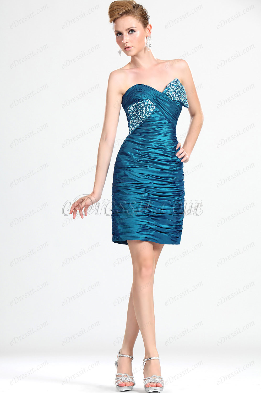 eDressit Neue Artikel Wunderbares Trägerlos Perlen  Party Abendkleid (35111305)