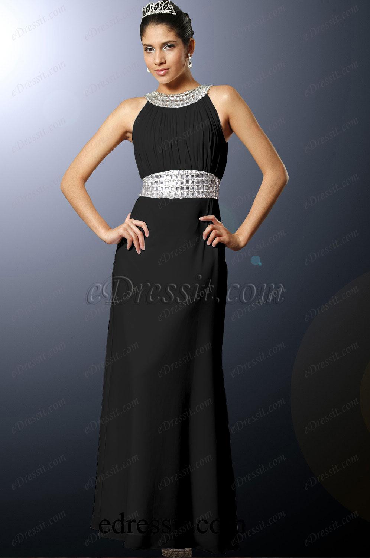 Clearance Sale ! eDressit Black Evening Dress--Size UK20 (00100207c)