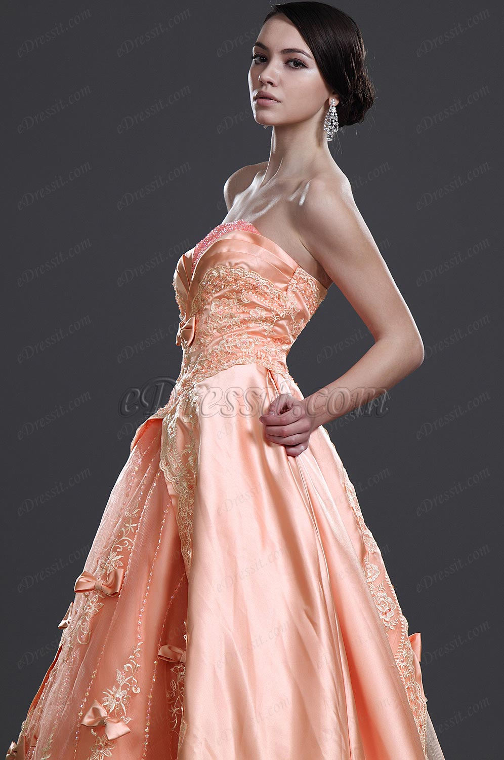 eDressit New Attractive Strapless Prom Gown (31110801)