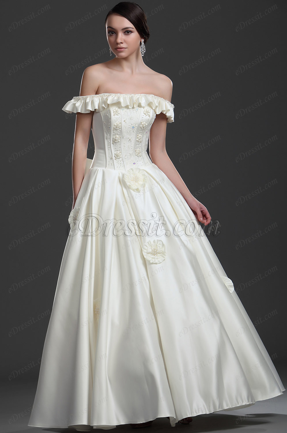 eDressit New Off shoulder Wedding Dress (01113413)
