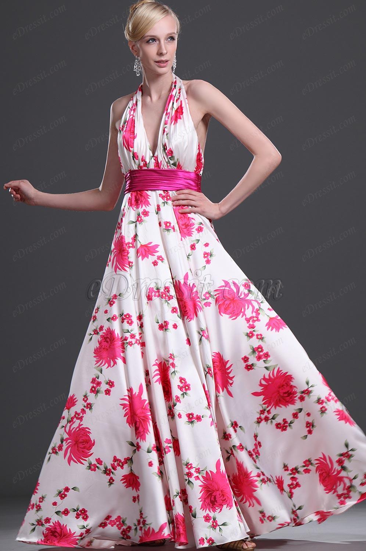 eDressit 2011 Floral Robe de Sexy/Robe de Soirée (00099612)