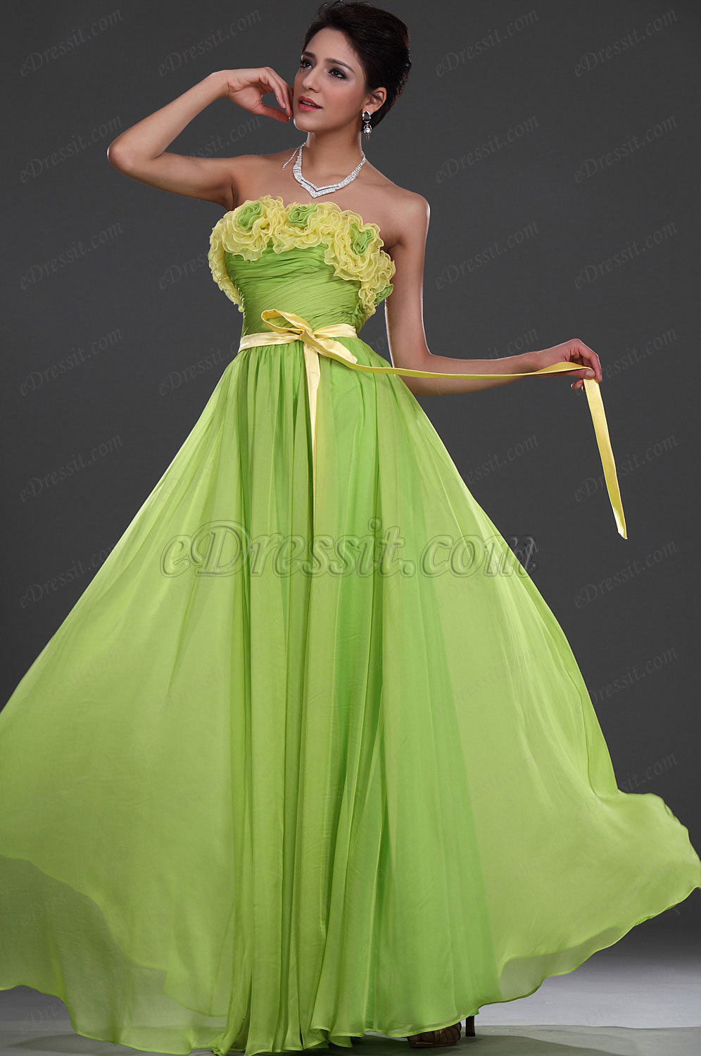eDressit New Stylish Strapless Evening Dress (00116404)