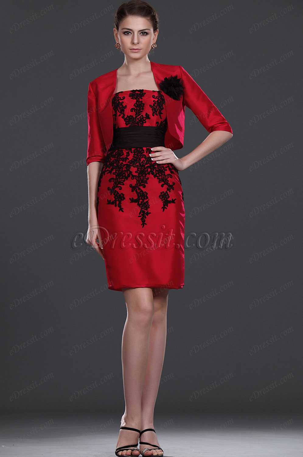 eDressit New Simple Elegant Two Piece Mother of the Bride Dress (26111902)