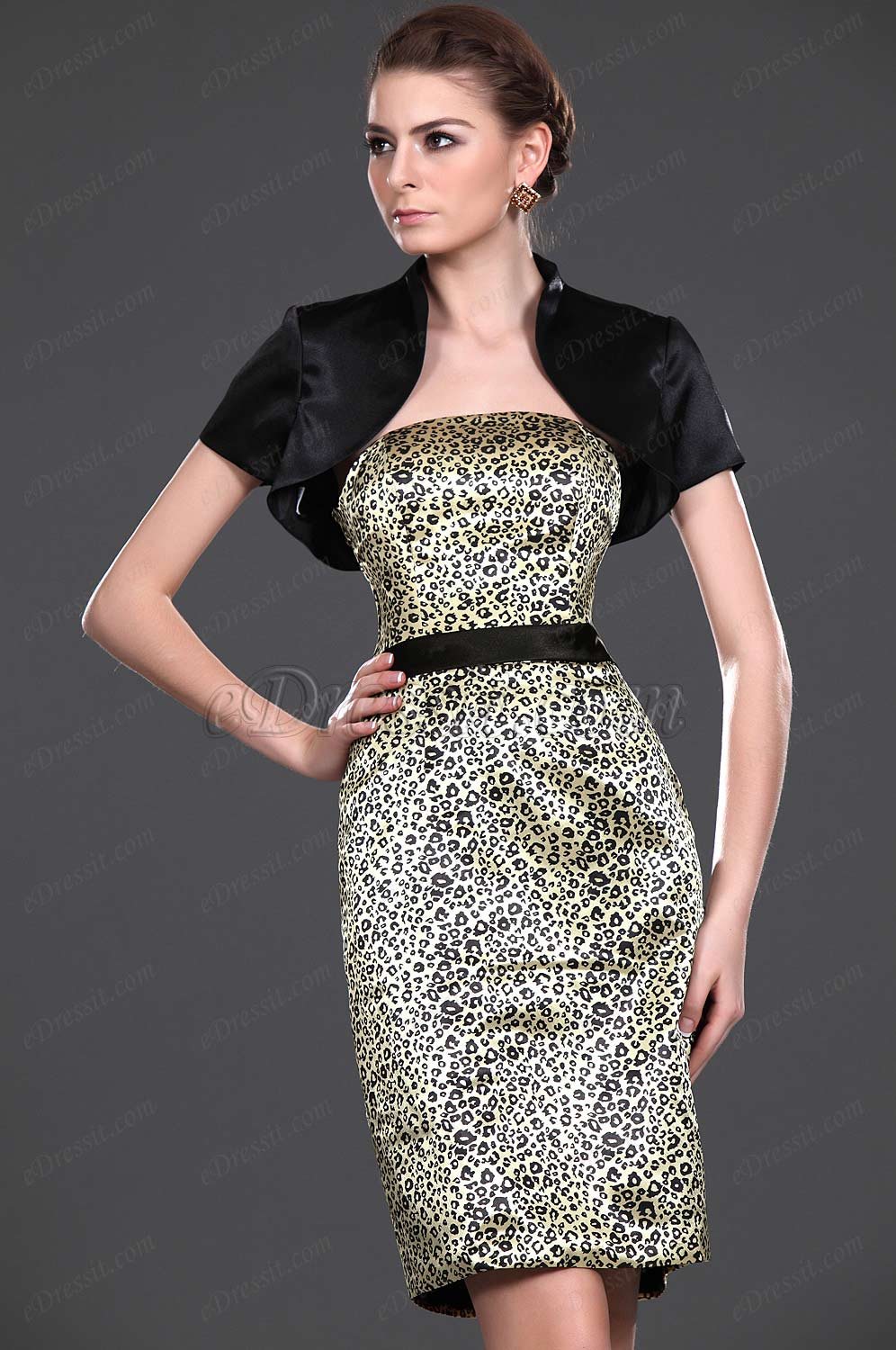 eDressit New Stylish Leopard Two Pieces Mother of the Bride Dress (26112541)