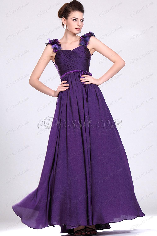 eDressit  Elegante Violado vestido de noche (00119606)