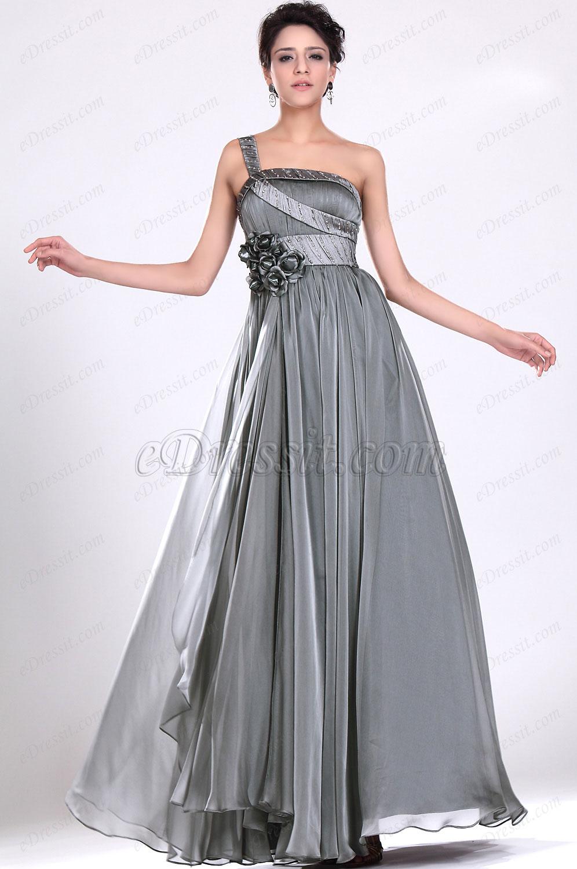 eDressit  Fabelhaftes Ein Schulter Abendkleid (00119408)
