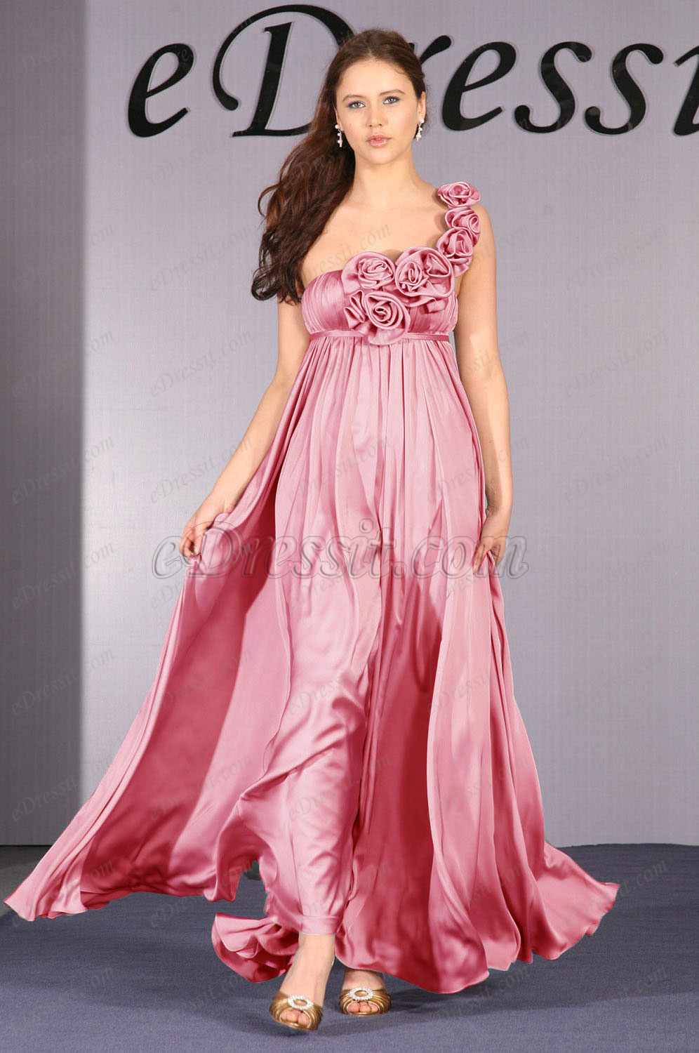 Clearance Sale !  eDressit One-Shoulder Evening Dress--UK8 (00093035b)
