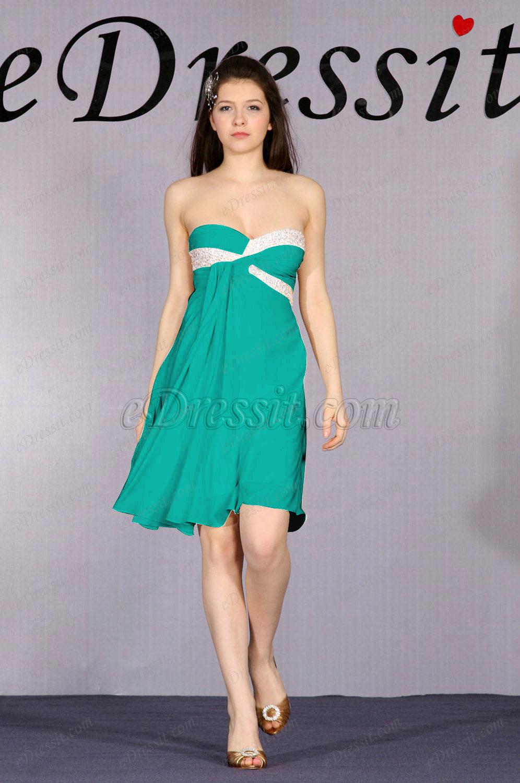 Clearance Sale !  eDressit Strapless Cocktail Dress--Size UK6 (04091814c)