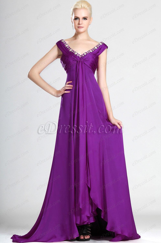 eDressit  вечернее платье  и сексуальное V-декольте (00125212)