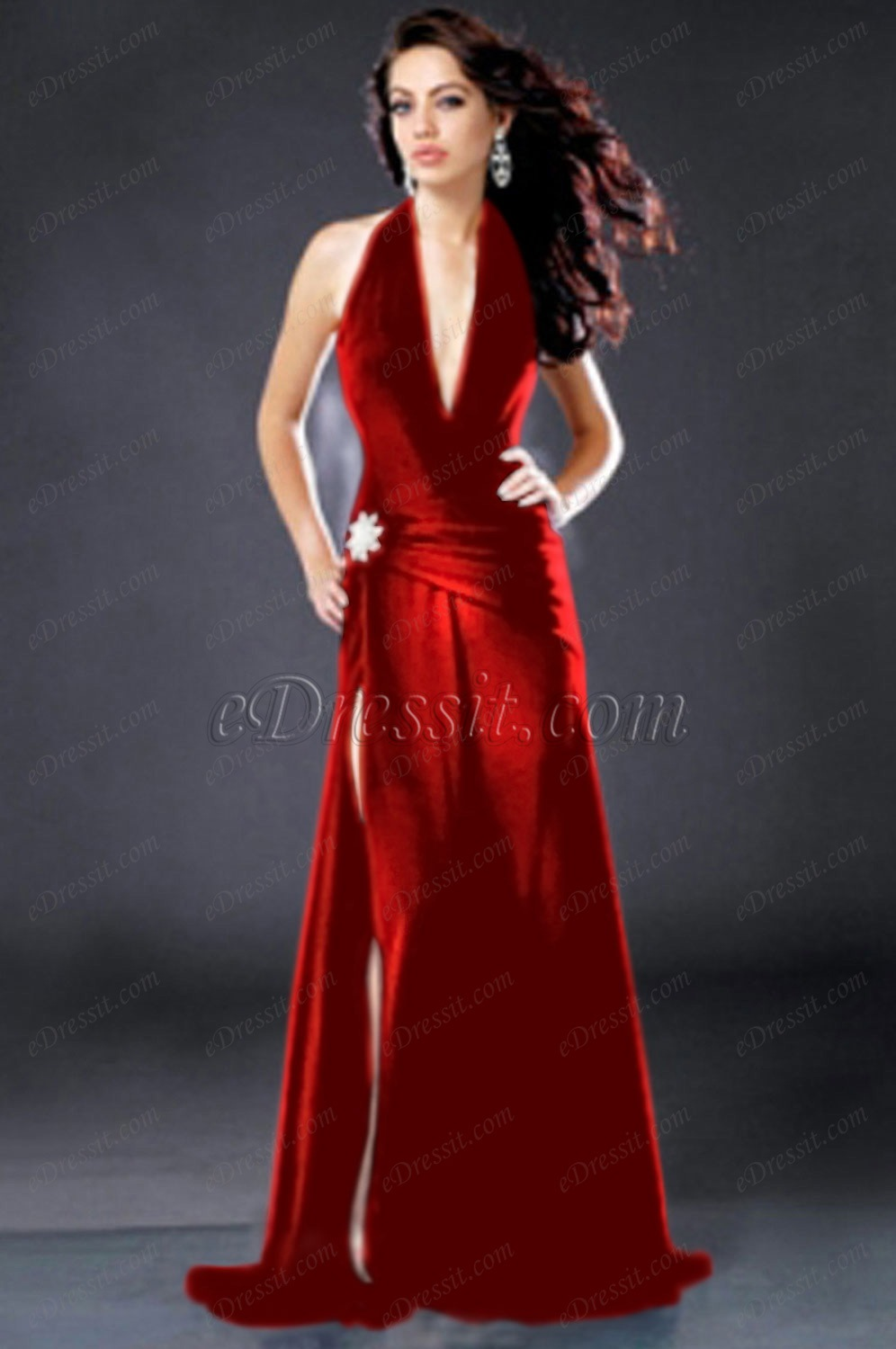 Clearance Sale !eDressit Angelina Jolie Elegant Ball Party Evening Dress (00775800D)