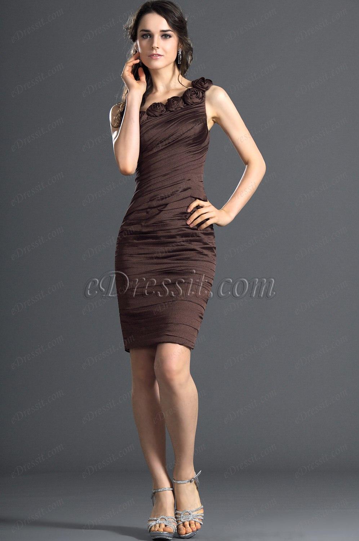 eDressit Stylish One shoulder Cocktail Dress Party Dress (04121220)