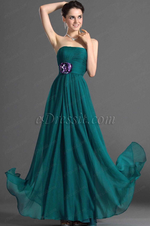 eDressit Maravilloso Sin Tirante Vestido de Dama de Honor Largo (07121705)