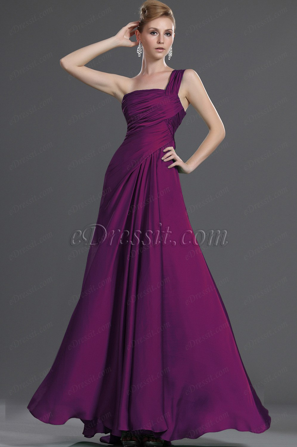 Clearance Sale !eDressit New Hot Style One Shoulder Evening Dress (00120304B)