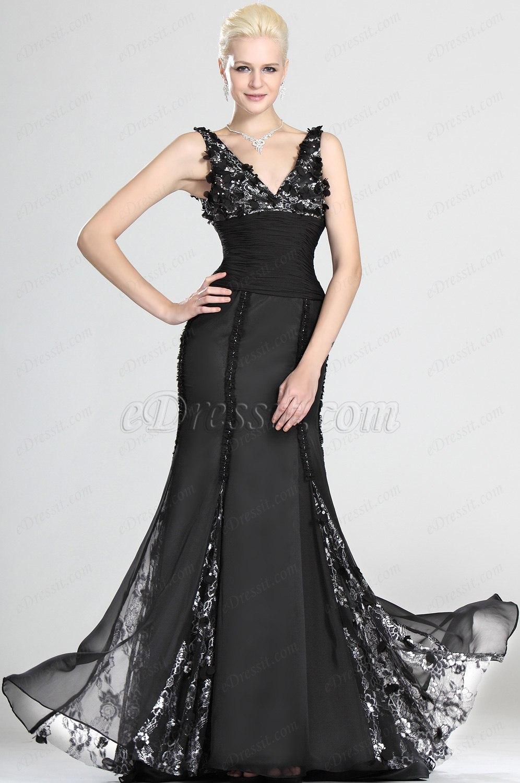 eDressit великолепное вечернее платье и сексуальное V-декольте (00123700)